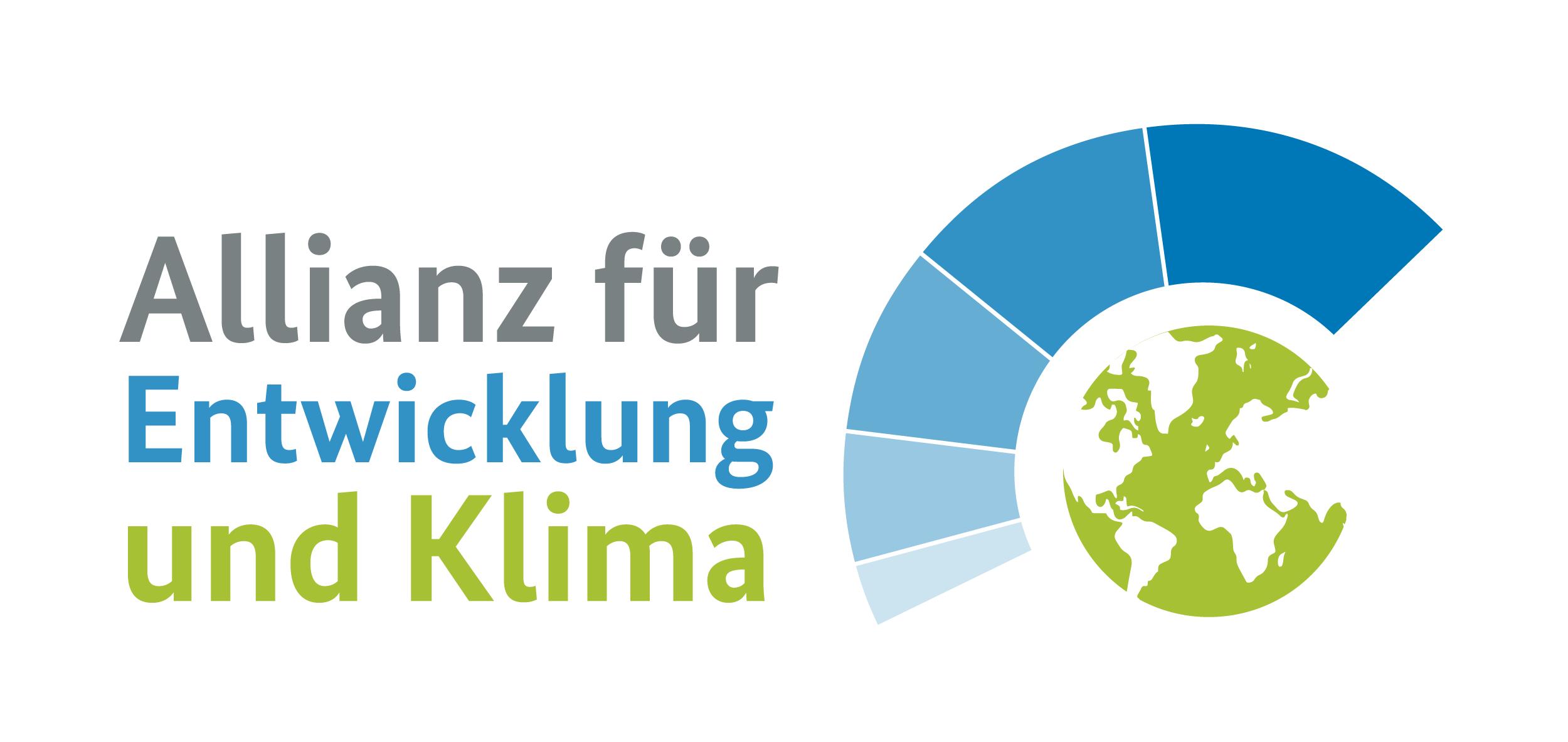 Logo der Allianz für Entwicklung und Klima