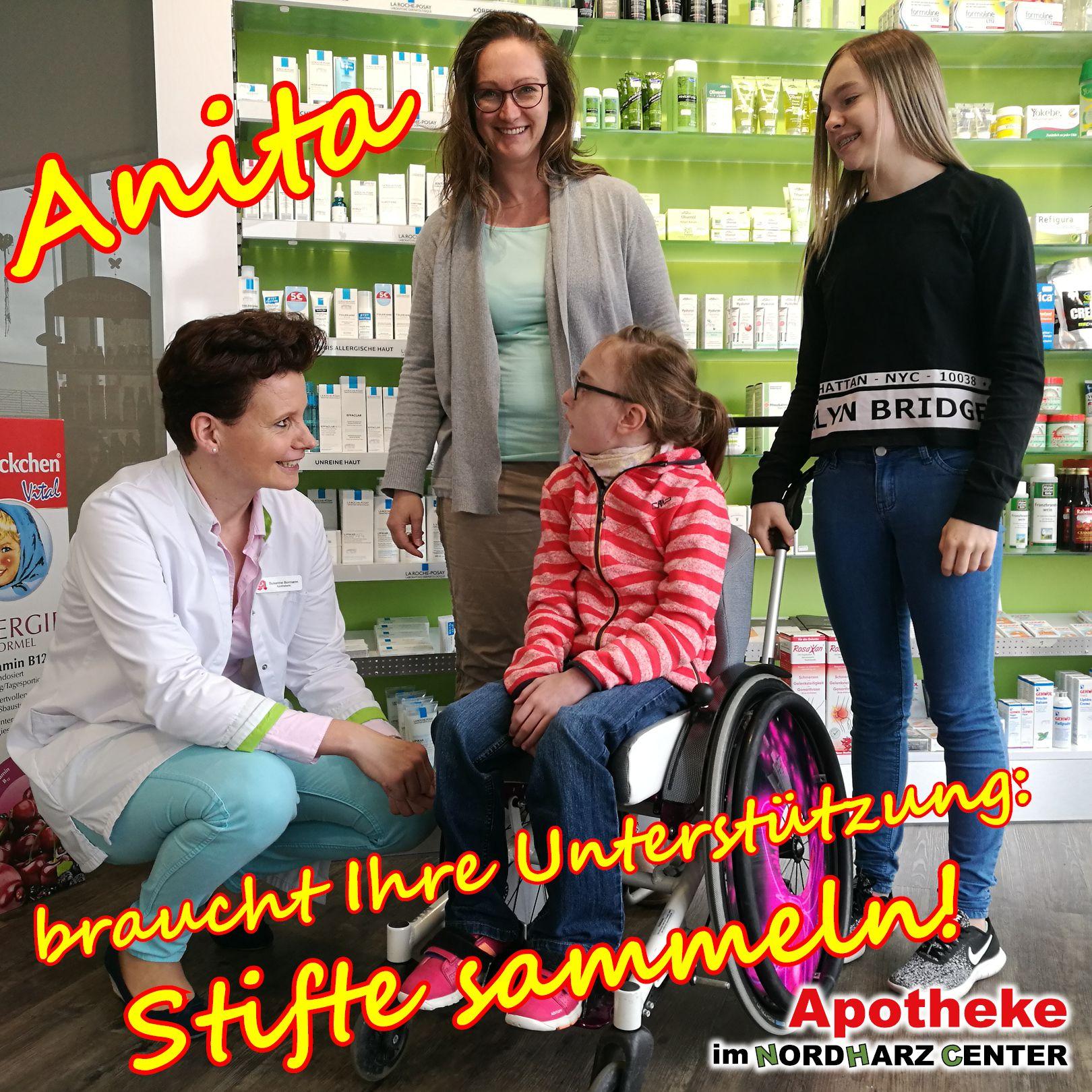 Anita zu Besuch in unserer Apotheke