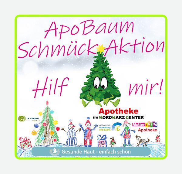 Kinderbild zur ApoBaum-Schmueck-Aktion