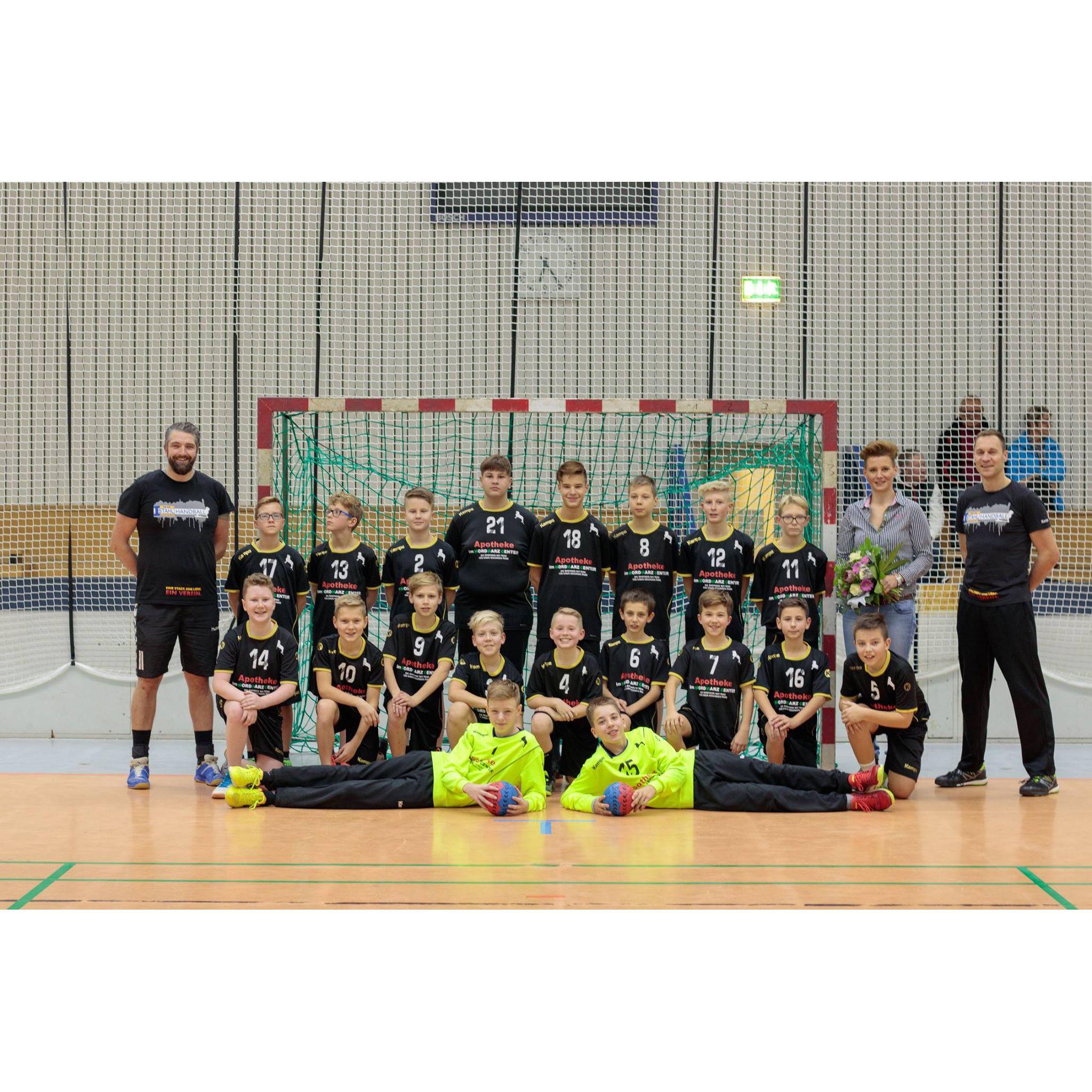 Foto der Mannschaft vom SG Stahl Blankenburg